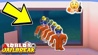 WALK THROUGH WALLS! *NOCLIP!* Roblox Jailbreak NEW GLITCH! (Sewer Escape Update)