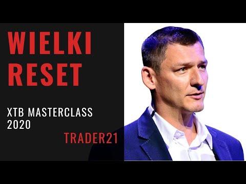 Wielki Reset - najwyżej ocenione wystąpienie na XTB Masterclass 2020