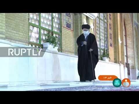 Iran: Supreme Leader Khamenei visits Imam Khomeini shrine in Tehran