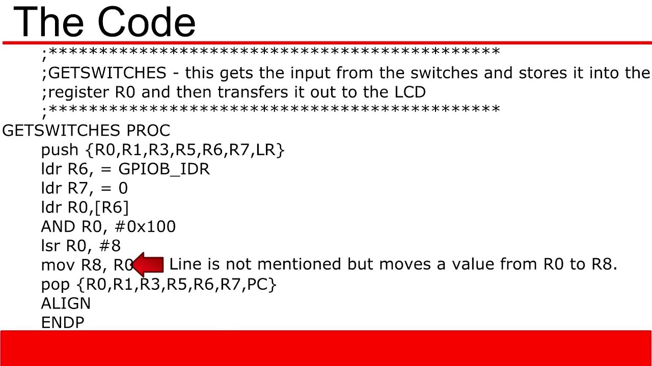 ARM Cortex M3 Tutorial 7: Coding Example