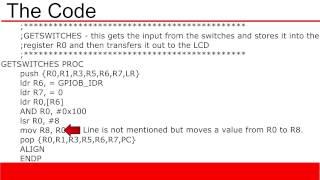 arm cortex m3 tutorial 7 coding example