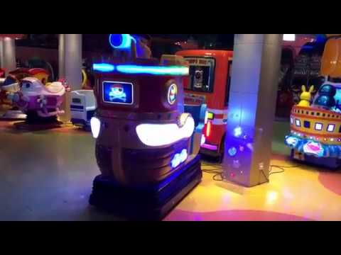 Captain Jack Coin Operatd Kiddie Rides Shooting Game Machine(sales@hominggame.com)