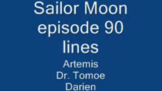 Sailor Moon episode 90 lines
