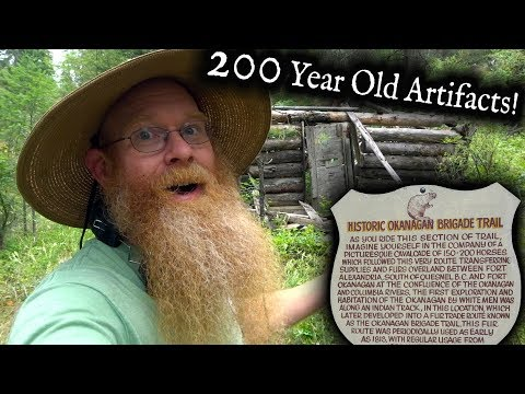 Metal Detecting A 200 Year Old Fur Trade Encampment.