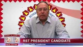 rst candidate for president richard tuffy lunderman