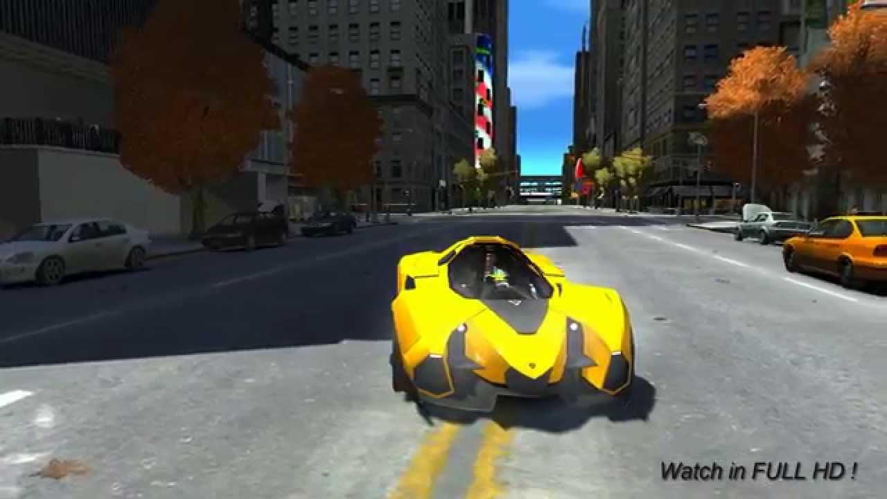 433 lamborghini egoista new vehicles gta iv youtube - Lamborghini Egoista Police