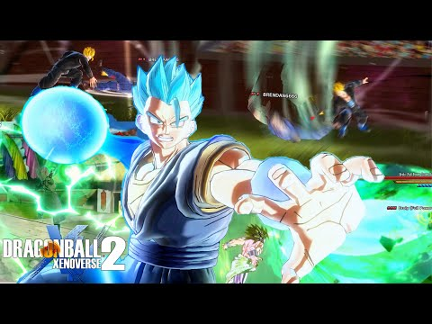 Gigantic Rage Is The Best NEW Super Attack! Dragon Ball Xenoverse 2 DLC 8