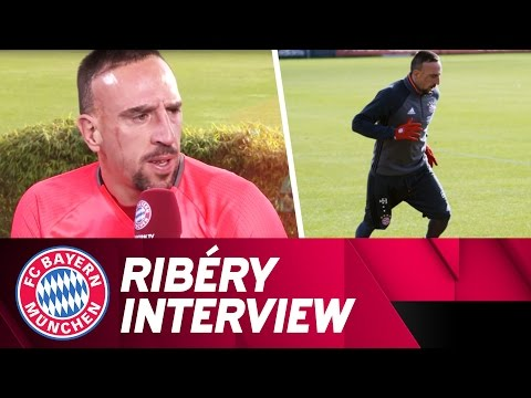 """On the pitch I feel like a little child"" 