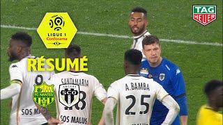 FC Nantes - Angers SCO ( 1-1 ) - Résumé - (FCN - SCO) / 2018-19