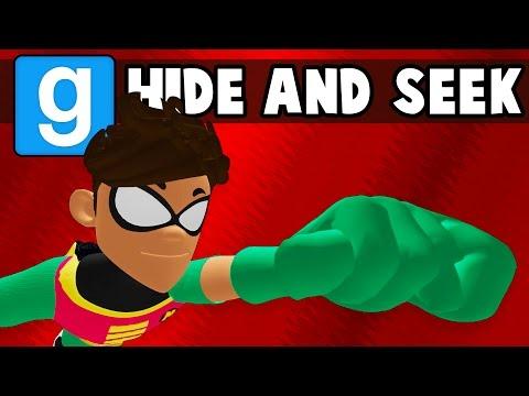 Gmod: Superhero Edition! New Playermodel! (Garrys Mod Hide and Seek Funny Moments)