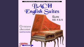 Play English Suite, For Keyboard No. 4 In F Major, Bwv 809 (Bc L16)