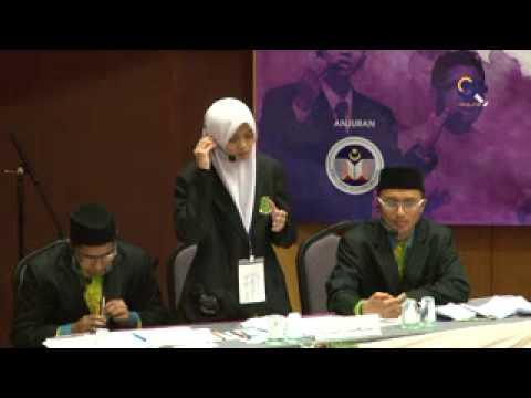 Pertandingan Debat Bahasa Arab Jemputan Nusantara 2012 (Akhir)