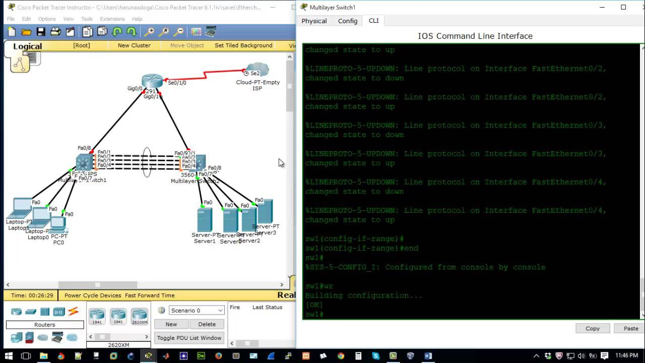 How To Create Etherchannel Link Aggregation On Cisco Devices