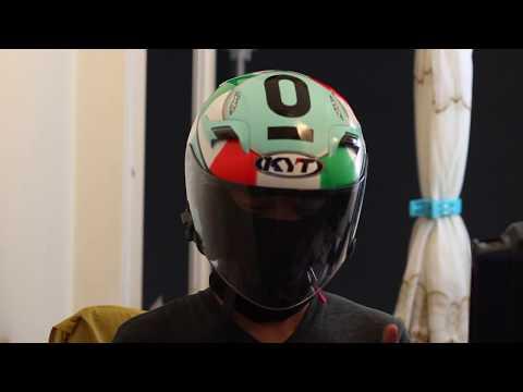 Helmet KYT VENOM - Pendapat aku lepas guna *3 Hari