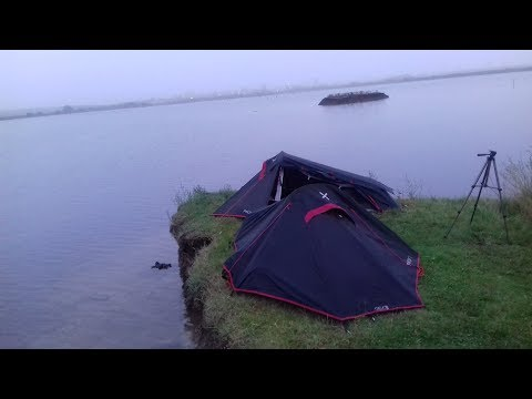 WILD CAMPING ON THE THAMES ESTUARY | WALKING IN KENT (PART 1 OF 2)