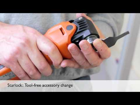FEIN STARLOCK Mult-Tool Mounting System & Accessories - YouTube