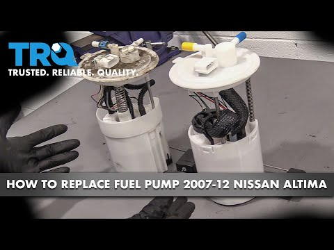 How to Replace Fuel Pump 07-12 Nissan Altima