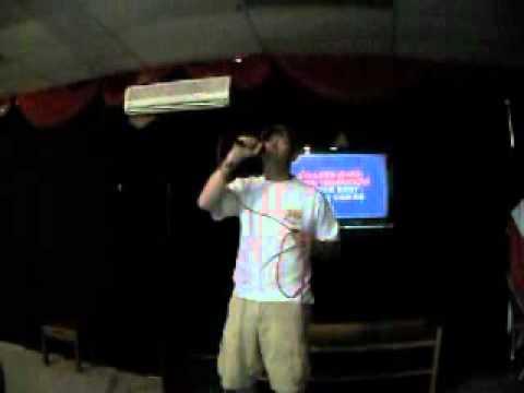 """Tony Williams Singing """" I cross my Heart"""" for Kendra Williams at Karaoke May 14,2012"""