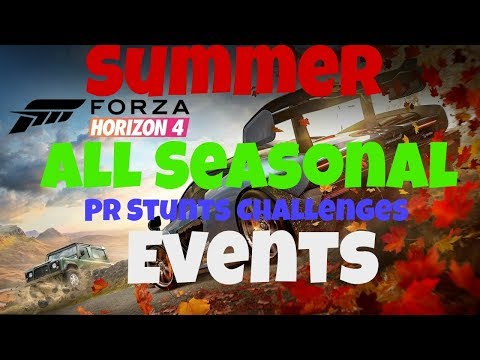 Summer Seasonal Events And PR Stunts Forza Horizon 4 ***Feb 14th** thumbnail