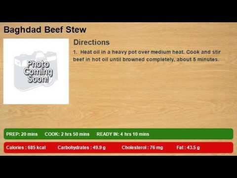 Baghdad Beef Stew
