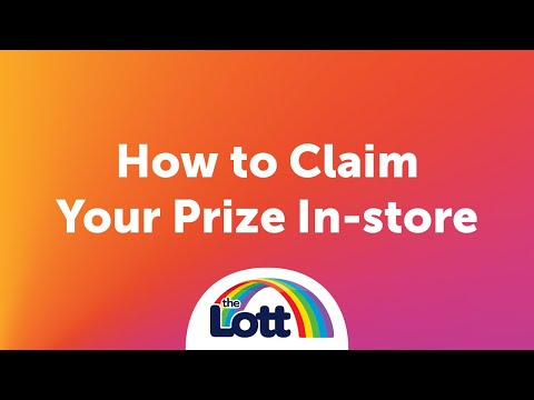 How To Claim Your Prize - In-store