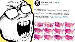 NYT Maps Out Artist Popularity State By State