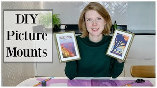 How to make picture mounts