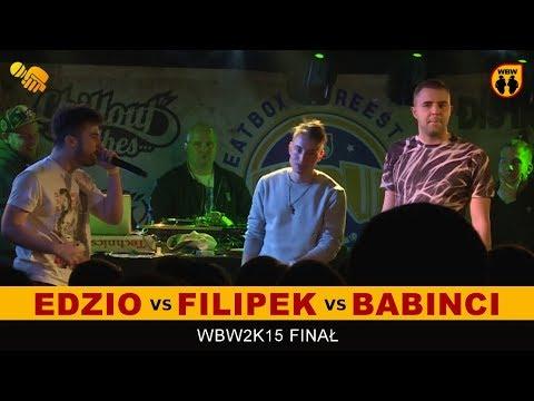 bitwa EDZIO vs FILIPEK vs BABINCI # WBW 2015 Finał  [dogrywka] # freestyle battle