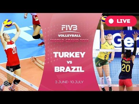 Turkey v Brazil - Group 1: 2016 FIVB Volleyball World Grand Prix