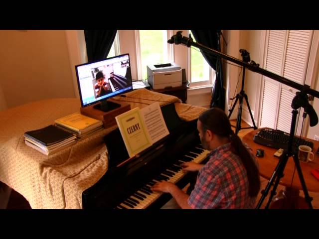 Sample Skype Piano Lesson with Dr. Cory Hall