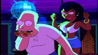 Bender Smoking Drinking Two Hot Dog Stripper Make Out