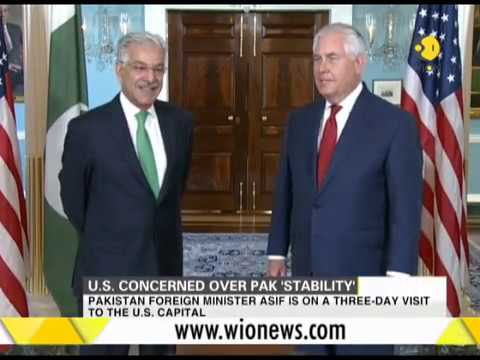 U.S. administration expresses 'concerns about future of Pakistan govt'