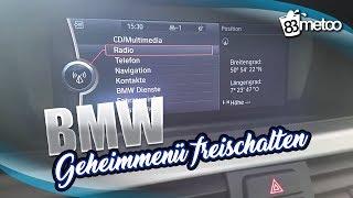 BMW CIC Service Menü - Geheimmenü freischalten