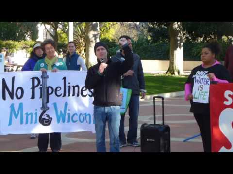 Divest From DAPL Rally and March Palo Alto 021117