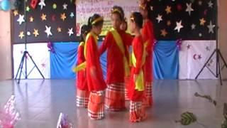 Tarian Joget Pahang Pelajar Tadika Seri Nilam