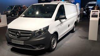 Mercedes-Benz Vito 114 CDI 2017 In Detail Review Walkaround Interior Exterior
