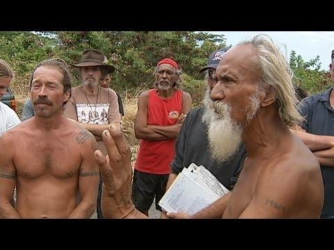 Hawaiians block government from land during Kawa standoff