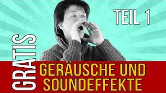 Kostenlose Geräusche und Soundeffekte kostenlos download (1/2)
