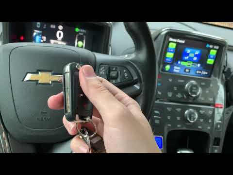 Как завести Chevrolet Volt если села батарейка в ключе?