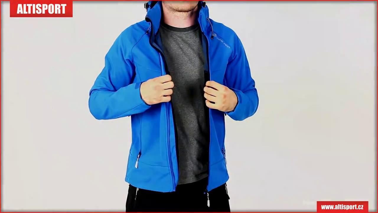 pánská softshellová bunda alpine pro nootk 3 mjcm279 modrá - YouTube ac5a0471cf1