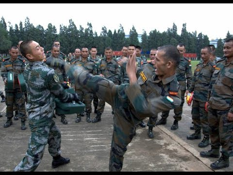 India army vs china army live fight dhoklam