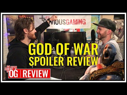 GOD OF WAR PS4 SPOILER REVIEW DISCUSSION