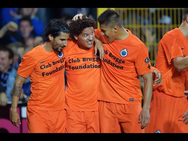 2014-2015 - Sporting Lokeren - Club Brugge - GOAL Felipe Gedoz