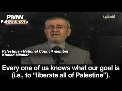 VÍDEO: ¿Cuál es el verdadero objetivo palestino? ¡No te lo pierdas! Sus propios líderes lo admiten
