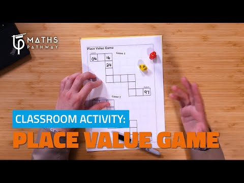 Place Value Game   Classroom Activity