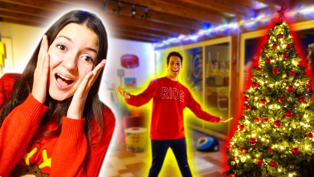 Sorprendo Sofi Con La Stanza Di Natale Youtube