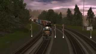 Trainz 12: Route Speed Build.