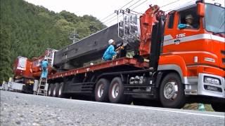 360t吊クレーン ブーム・アッパー解体
