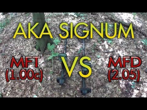 Сравнение работы МД Сигнум 7272М  МФТ  ( 1.00с)  и  Сигнум  МФД (2.05),  на слабые сигналы