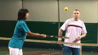 Большой теннис обучение - лучше ничего не бывает...
